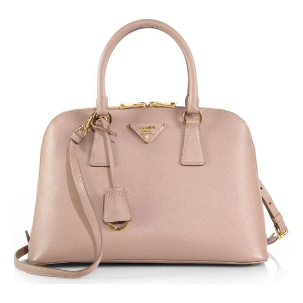 PRADA saffiano lux small promenade - A luxurious saffiano leather design in an elegant...