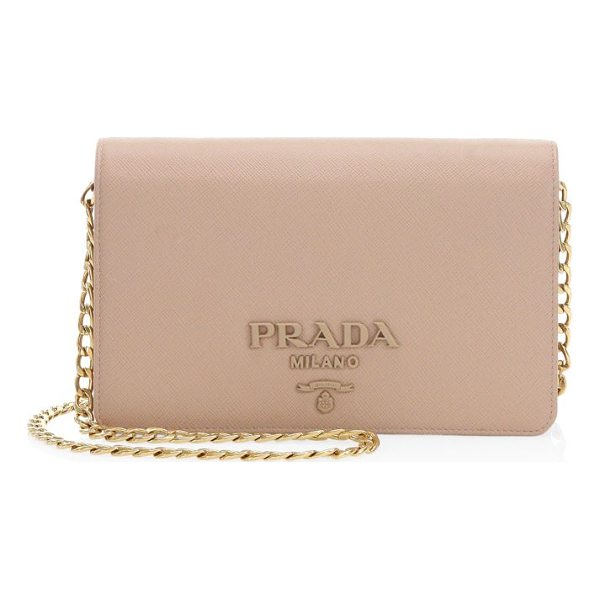 PRADA small monocrome crossbody bag - Sophisticated leather crossbody bag for a modern style....
