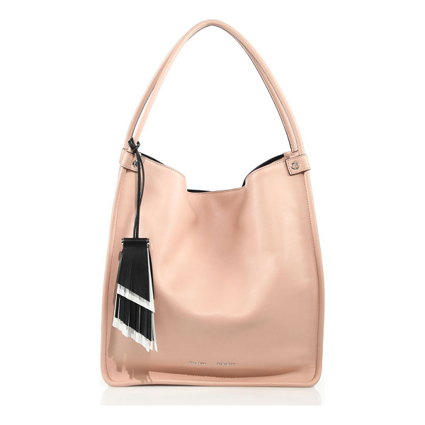 PROENZA SCHOULER calfskin leather tote - Minimalistic design updates this slouchy tote. Double top...