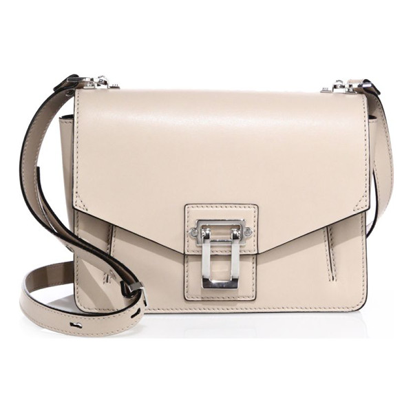 PROENZA SCHOULER hava smooth leather shoulder bag - Smooth leather flap style with contrast pipe trim....