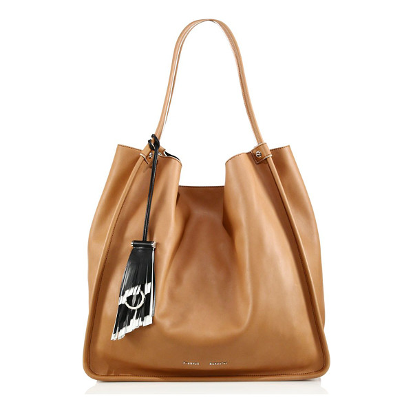 PROENZA SCHOULER Large soft calf leather tote - Buttery calf leather tote with chic slouch. Dual carry...