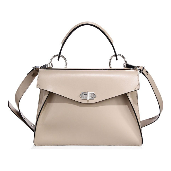 PROENZA SCHOULER medium hava leather satchel - An enduring silhouette modernized with luxe hardware. Top