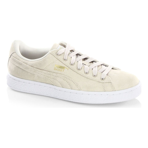 PUMA basket sneakers - Lustrous low-top sneaker with basket platform sole. Textile...