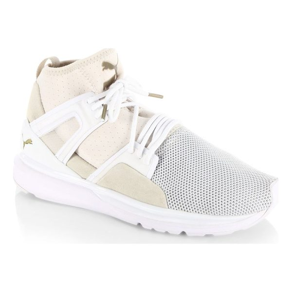 PUMA bog limitless sneakers - Hi-top sneakers with knitted vamp and attractive overlays....