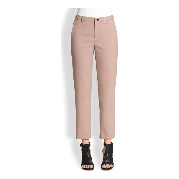 RAG & BONE Straight-leg ankle pants - Impeccably tailored in a menswear-inspired silhouette and...