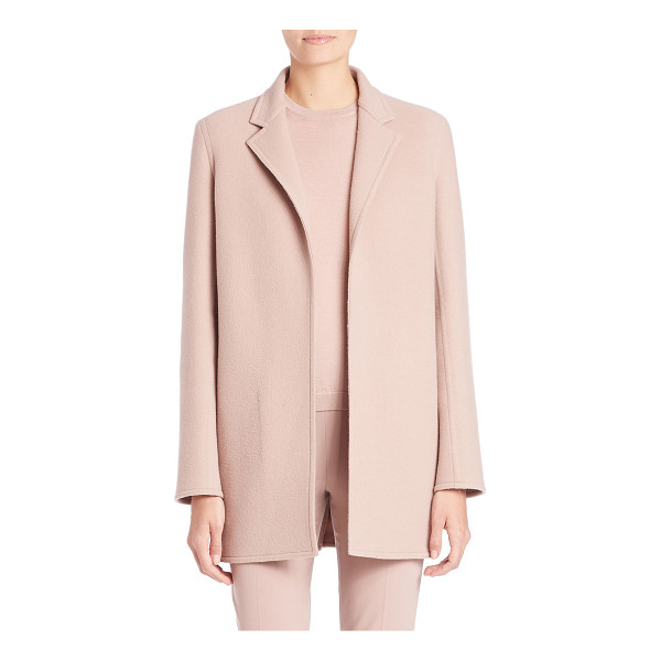 RALPH LAUREN COLLECTION addison cashmere blend coat - Sophisticated tailoring in a cozy cashmere blend. Notch...