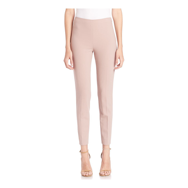 RALPH LAUREN COLLECTION Annie slim pants - Clean, sophisticated trousers with a flattering fit....