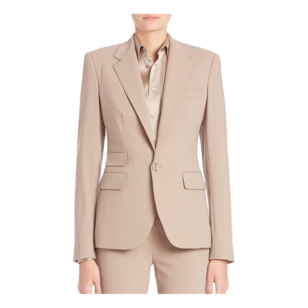 RALPH LAUREN COLLECTION Parker blazer - Timeless refined blazer, with classic tailoring. Notch...