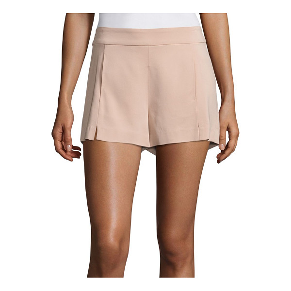 RAMY BROOK adele stretch crepe shorts - Ultra-smooth shorts designed with front slit detail. Banded...
