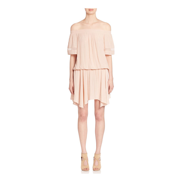 RAMY BROOK jessa off-the-shoulder dress - Ramy Brook drapes an effortless, yet ethereal...
