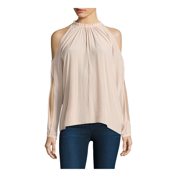 RAMY BROOK milan cold shoulder top - A cool top with cold shoulders and cutout sleeves....