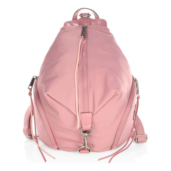 REBECCA MINKOFF julian backpack - Chic nylon backpack for your everyday collection. Top carry...