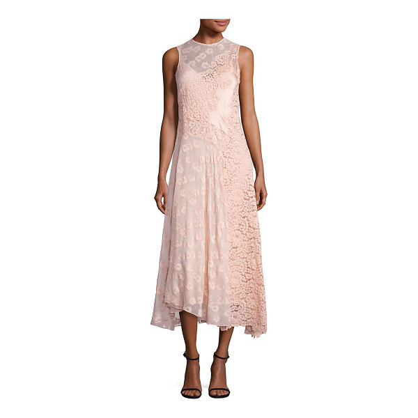 REBECCA TAYLOR sleeveless chevron lace dress - Alluring silhouette adorned with chevron lace pattern....