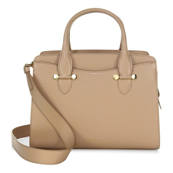 """SALVATORE FERRAGAMO small leather tote - Small tote crafted of rich leather. Double top handles, 4""""..."""