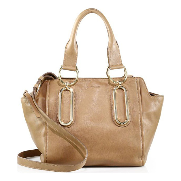 SEE BY CHLOE Paige leather satchel - A softly structured silhouette cast in smooth, supple...