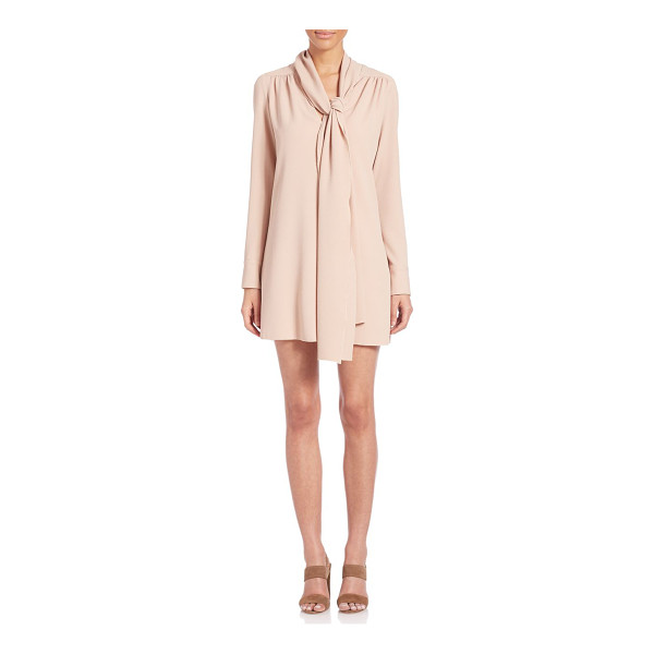 SEE BY CHLOE bowneck dress - Exquisite dress detailed with enticing pleats. Bowneck with...