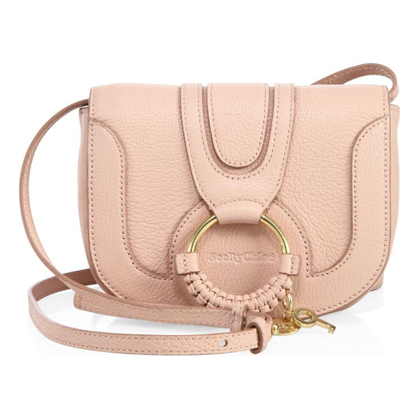 SEE BY CHLOE hana leather mini crossbody bag - Comfortably lined leather mini crossbody bag. Adjustable...
