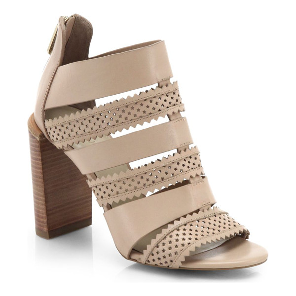 SEE BY CHLOE Perforated star leather sandals - Perforated leather in a star motif lends a touch of whimsey...
