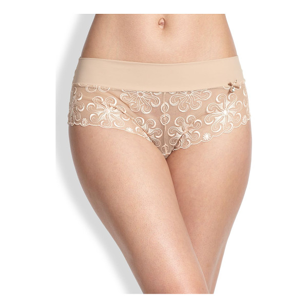 SIMONE PERELE revelation boyshorts - This full-coverage style is crafted with a versatile...