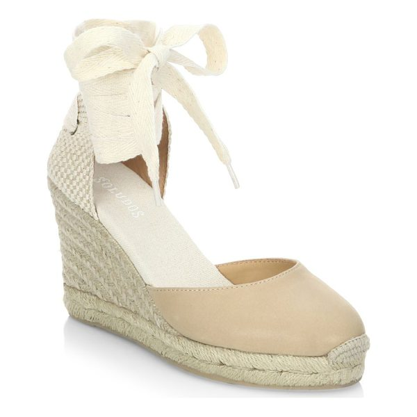 SOLUDOS gladiator tall wedge sandals - Retro-inspired wedge sandals for effortless chic style....