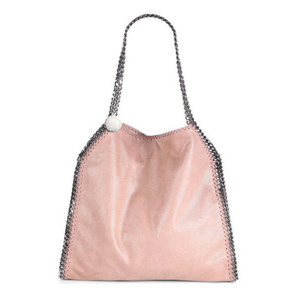 STELLA MCCARTNEY Falabella baby bella shoulder bag - A smaller version of the classic Falabella, in suede-like...