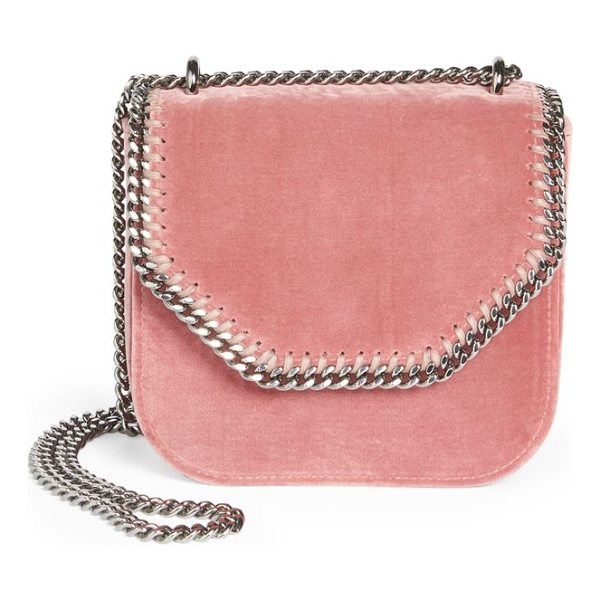 STELLA MCCARTNEY chain-trim shoulder bag - Shoulder bag featuring chain details in front. Chain...