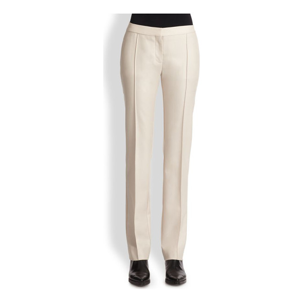 STELLA MCCARTNEY Straight-leg wool trousers - A precisely tailored straight-leg silhouette, cut from...
