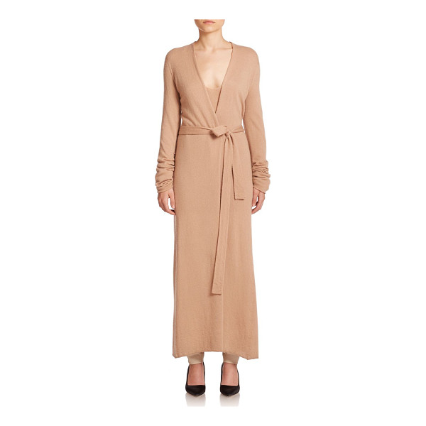 THE ROW Mila knit duster coat - Knit from a luxe blend of cashmere and silk, this...
