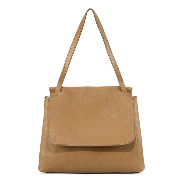 THE ROW sidkick leather bag - Textured leather bag rendered in a monochromatic finish....