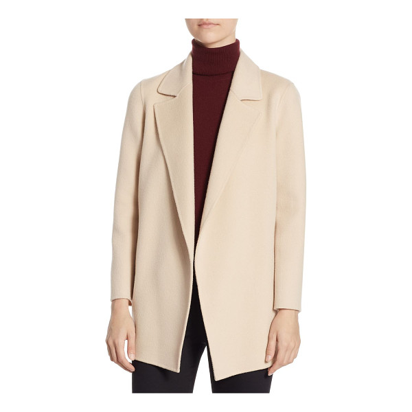 THEORY clairene jacket - Wool-blend jacket featuring a textured finish. Notch...