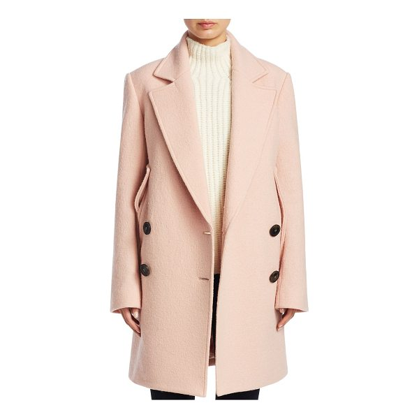 THEORY wool cape coat - Double breasted cape coat in opulent wool. Notch lapels....