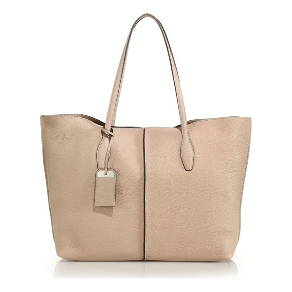 TOD'S Joy large tote - This timeless, versatile tote is crafted of Italian leather...