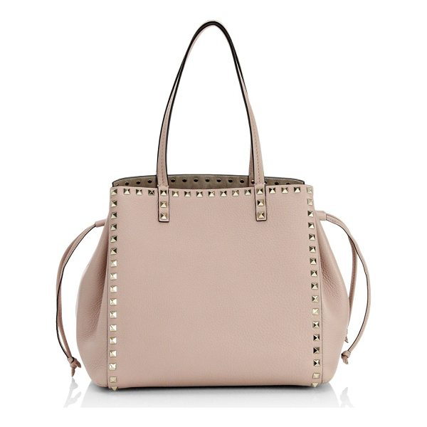 VALENTINO rockstud spike shoulder bag - Features metallic stud details. Shoulder straps. Side...