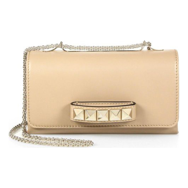 VALENTINO va-va-voom shoulder bag - A smooth, supple nappa leather bag that features arresting...