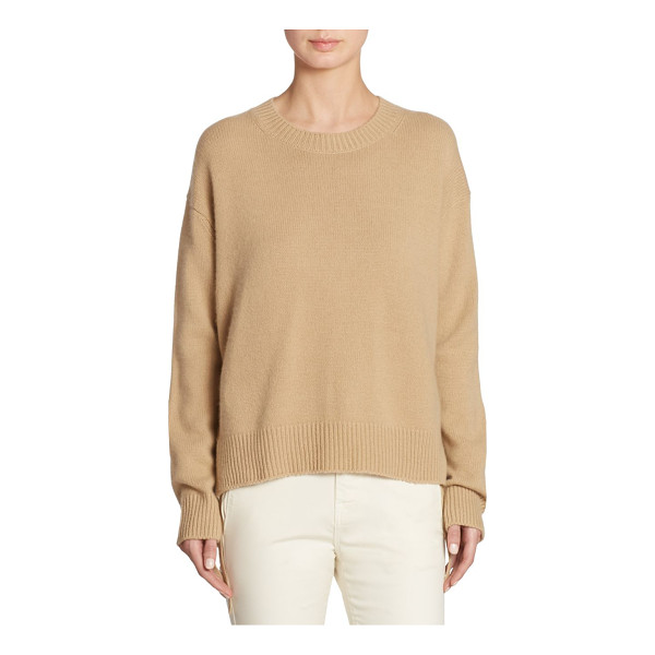 VINCE cashmere roundneck top - Classic cashmere top with side tie detail. Roundneck. Long...