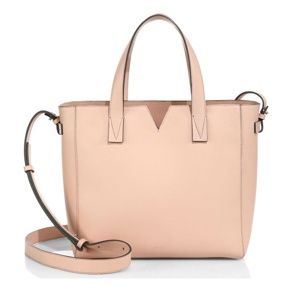 VINCE Signature baby leather east-west tote - EXCLUSIVELY AT SAKS IN LUGGAGEVersatile Italian leather...