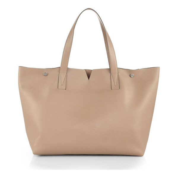 VINCE Signature collection medium e/w tote - EXCLUSIVELY AT SAKS. A classic carryall in luxurious...