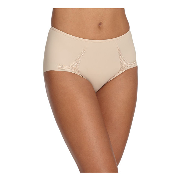 WACOAL Sensibility brief - A full-coverage silhouette designed with added stretch and...