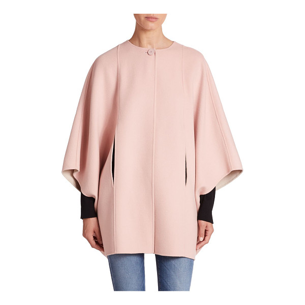 WEEKEND MAX MARA Reversible wool cape - Reversible styling ensures the versatility of this polished...