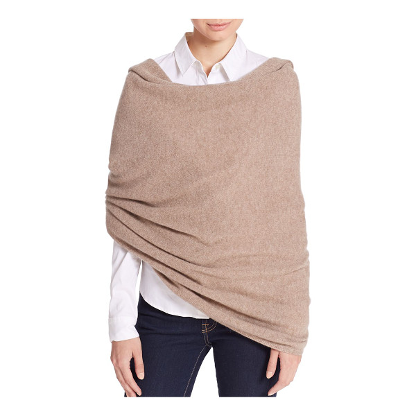 WHITE + WARREN Cashmere travel wrap - Fashioned from soft cashmere, this endlessly chic wrap...