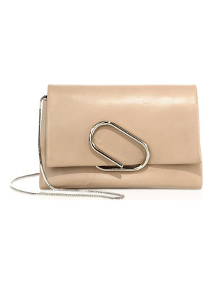 3.1 Phillip Lim alix soft flap leather chain clutch