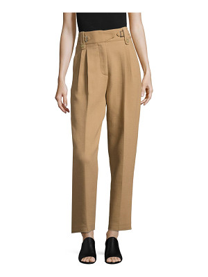 3.1 Phillip Lim belted double-crepe trousers