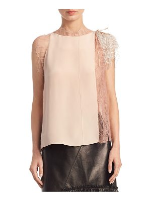 3.1 Phillip Lim lace silk top