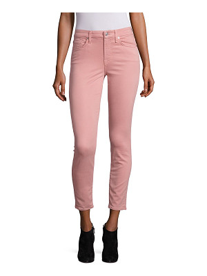 7 For All Mankind ankle skinny sateen jeans
