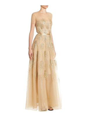 AHLUWALIA Asha Beaded Gown