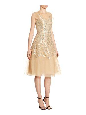 AHLUWALIA Richa Metallic Dress