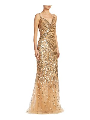 Ahluwalia rosiers sequin gown