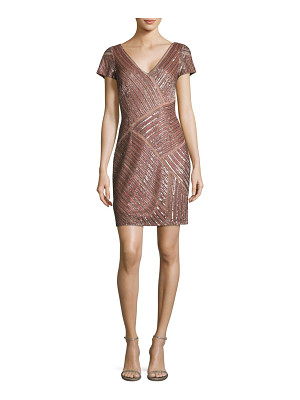 Aidan Mattox beaded cocktail dress