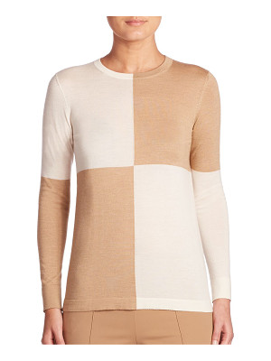 AKRIS colorblock pullover