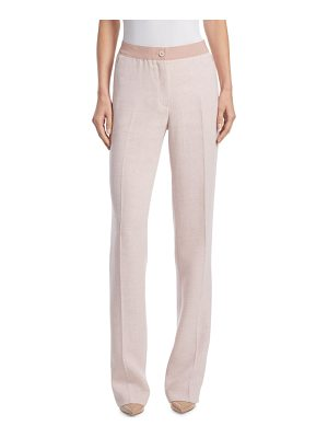 AKRIS Linen & Wool Pants